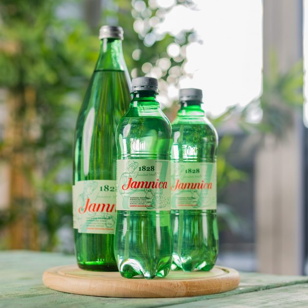 jamnica gazirana mineralna voda i hrana
